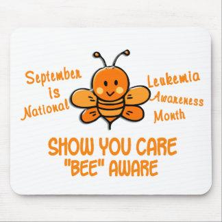 Leukemia Awareness Month Bee 1.1 Mouse Pad