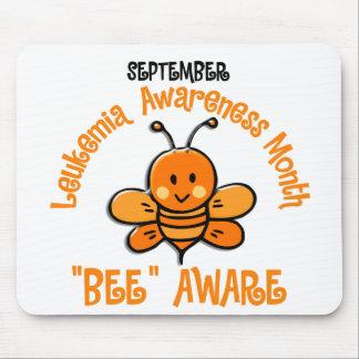 Leukemia Awareness Month Bee 1.2 Mouse Pad