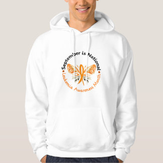 Leukemia Awareness Month Butterfly 3.3 Hoodie