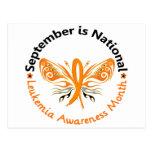 Leukemia Awareness Month Butterfly 3.3 Postcards
