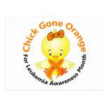 Leukemia Awareness Month Chick 2 Postcard