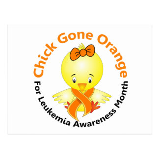 Leukemia Awareness Month Chick 2 Postcard