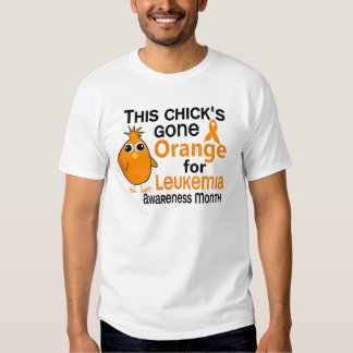 Leukemia Awareness Month Chick 3 Shirts