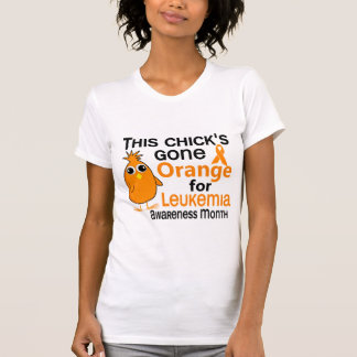 Leukemia Awareness Month Chick 3 T Shirt