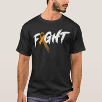 Leukemia Awareness Month Fight Vintage Blood Cance T-Shirt