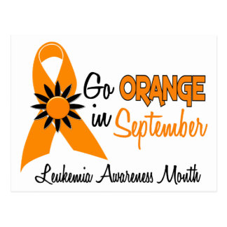 Leukemia Awareness Month Flowers 2 Postcard