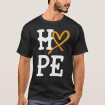 Leukemia Awareness Month Hope Vintage Blood Cancer T-Shirt
