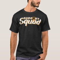 Leukemia Awareness Month Support Squad Blood Cance T-Shirt