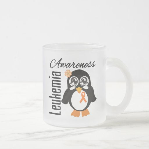 Leukemia Awareness Penguin Mugs