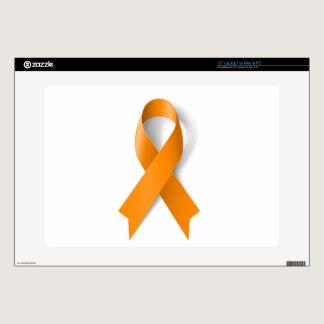 """Leukemia Awareness Ribbon 15"""" Laptop Decal"""