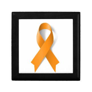 Leukemia Awareness Ribbon Gift Box
