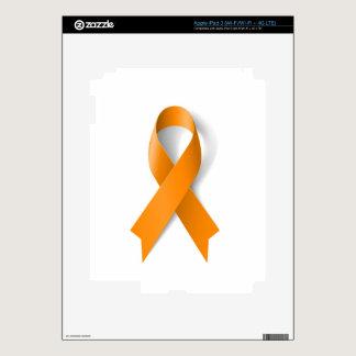 Leukemia Awareness Ribbon iPad 3 Skin