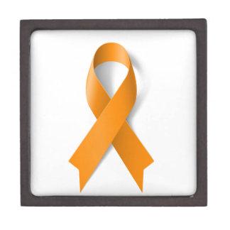 Leukemia Awareness Ribbon Jewelry Box