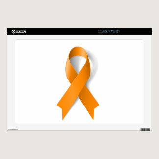 Leukemia Awareness Ribbon Laptop Decals