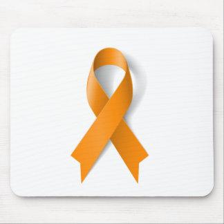 Leukemia Awareness Ribbon Mouse Pad