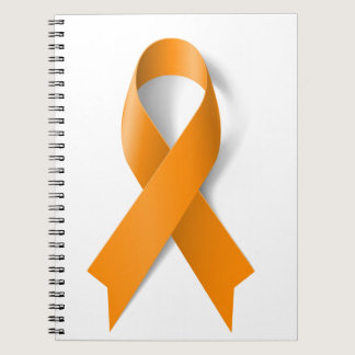 Leukemia Awareness Ribbon Spiral Notebook