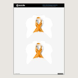 Leukemia Awareness Ribbon Xbox 360 Controller Skin
