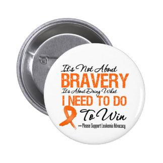 Leukemia Battle 2 Inch Round Button
