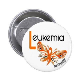 Leukemia BUTTERFLY 3.1 Button