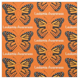 Leukemia Butterfly Awareness Ribbon Fabric