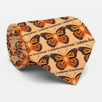 Leukemia Butterfly Awareness Ribbon Tie