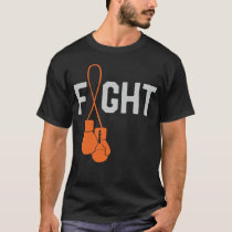 Leukemia Cancer Awareness Month Ribbon Survivor T-Shirt