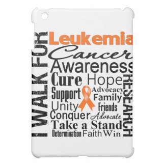 Leukemia Cancer Awareness Walk iPad Mini Cases