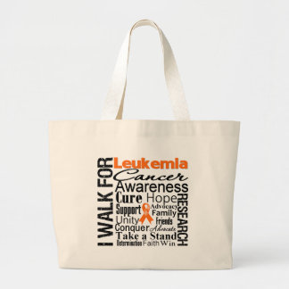 Leukemia Cancer Awareness Walk Tote Bag