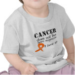 Leukemia Cancer Does Not Live Here Anymore Tshirts