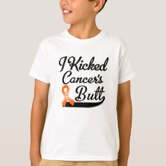 Leukemia Cancer I Kicked Butt T-Shirt