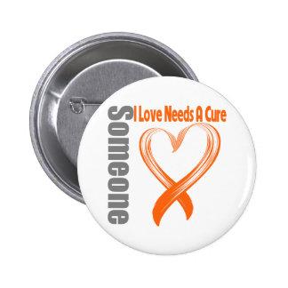 Leukemia Cancer Someone I Love Needs A Cure Button