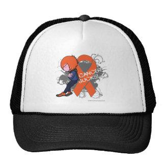 Leukemia Cancer Sucks (Boy) Trucker Hat