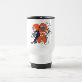 Leukemia Cancer Sucks (Boy) Mugs