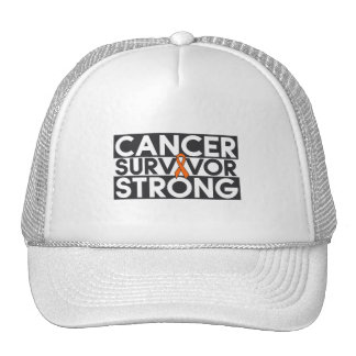 Leukemia Cancer Survivor Strong Trucker Hat