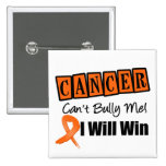 Leukemia Cant Bully Me I Will Win Button