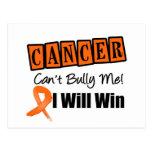 Leukemia Cant Bully Me I Will Win Postcard