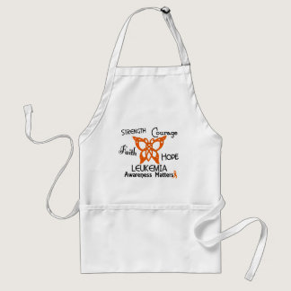 Leukemia Celtic Butterfly 3 Adult Apron