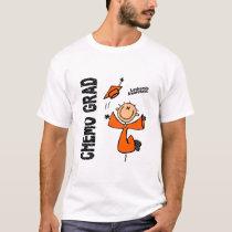 Leukemia CHEMO GRAD 1 T-Shirt