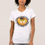 Leukemia Chemo Grad Chick T-shirts