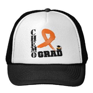 Leukemia Chemo Grad Trucker Hat