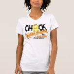 Leukemia Chick Gone Orange 2 T-shirt
