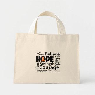Leukemia Collage of Hope Mini Tote Bag