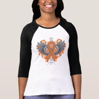 Leukemia Cool Wings Tee Shirt