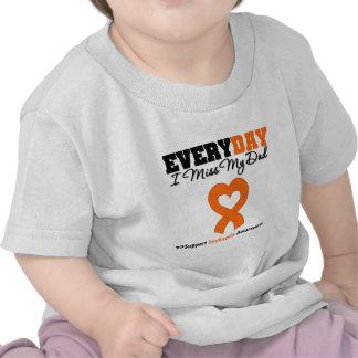 Leukemia Every Day I Miss My Dad T-shirt