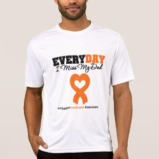 Leukemia Every Day I Miss My Dad T-shirts
