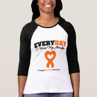 Leukemia Every Day I Miss My Grandpa Shirt