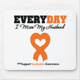 Leukemia Every Day I Miss My Husband Mouse Pads