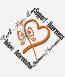 Leukemia Faith Hope Love Butterfly T-shirts