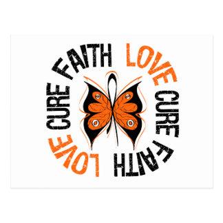 Leukemia Faith Love Cure Post Cards