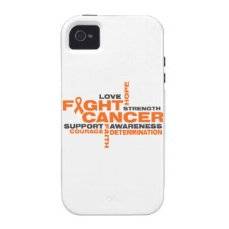 Leukemia Fight Collage iPhone 4 Cover